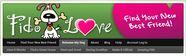 Fido Love header